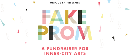 UNIQUE LA's Fake Prom Fundraiser for Inner-City Arts