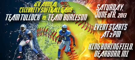 4th Annual Celebrity Softball Game