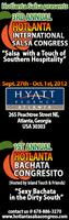 3rd ANNUAL HOTLANTA INTERNATIONAL SALSA CONGRESS