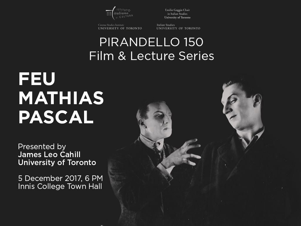Feu Mathias Pascal Film Poster