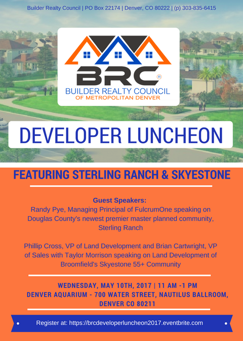 BRC Developer Luncheon