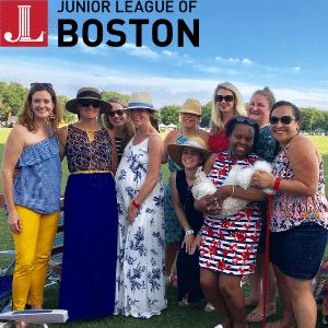JL Boston members at the 2018 Picnic & Ponies event