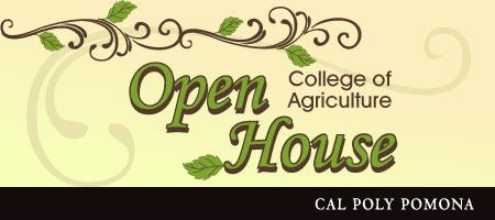 College of Agriculture Open House at Cal Poly Pomona