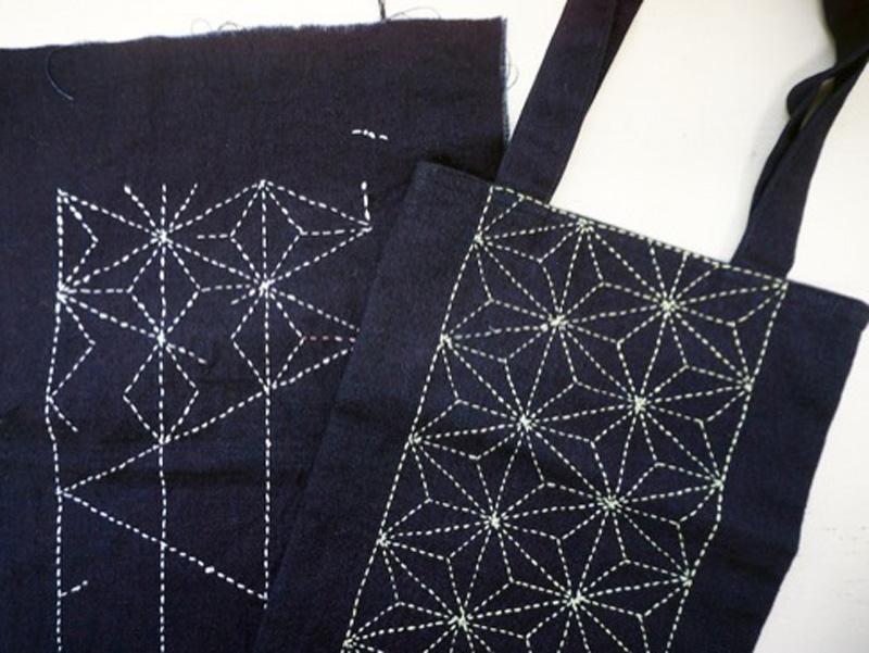 Sashiko Workshop Materials for participant