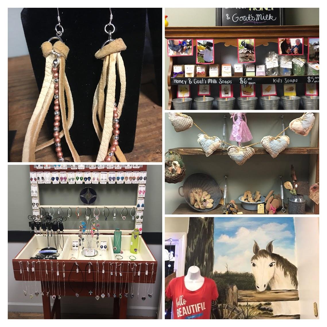 Bath and Body, wood working, jewelry, home decor, Open Mic Nights