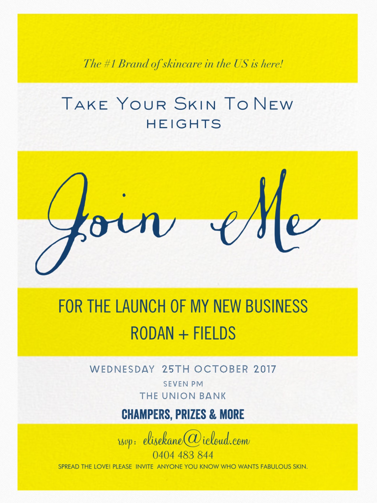 Business Launch Party Invite