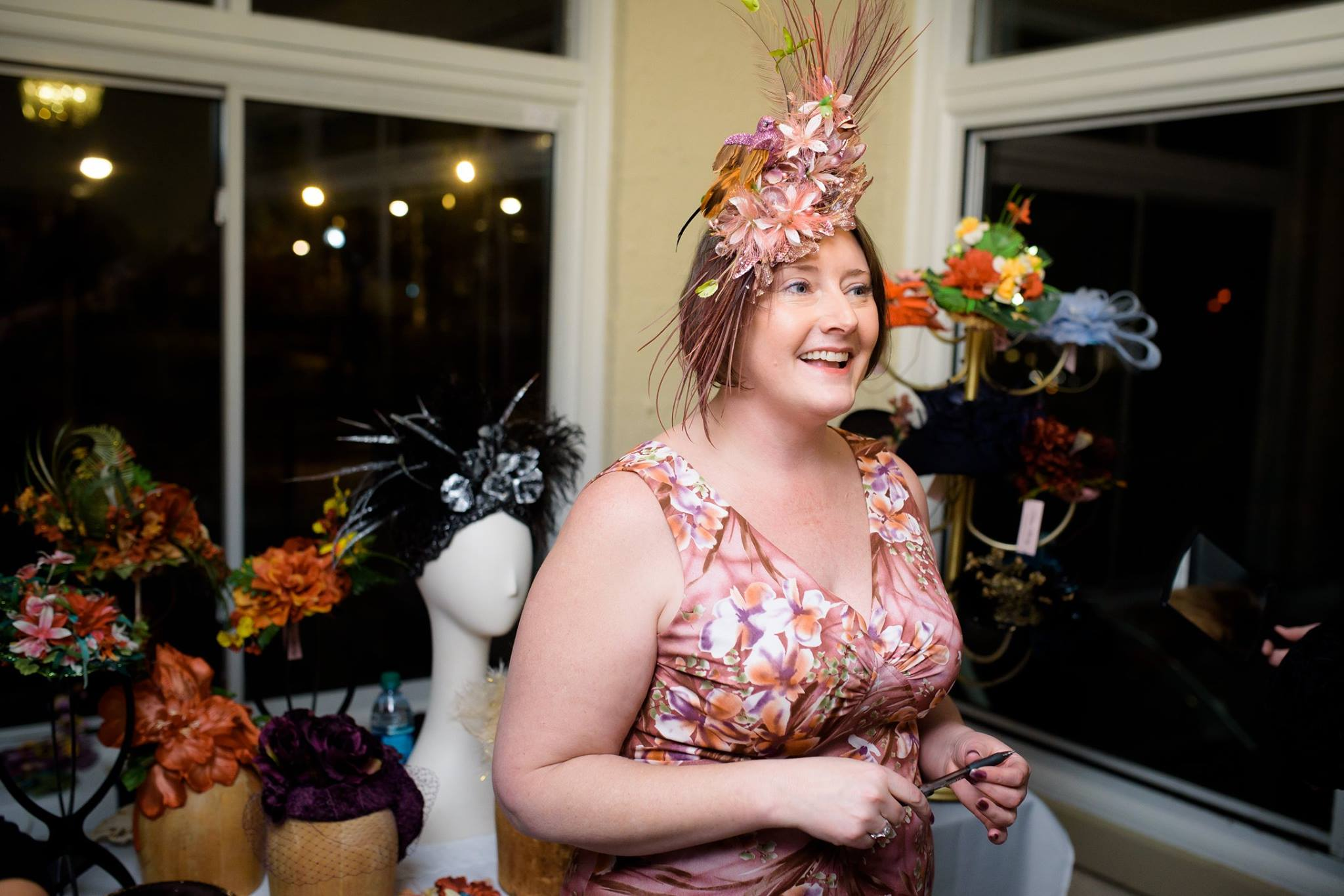 Millinery pop up shop, hats, fascinators, derby