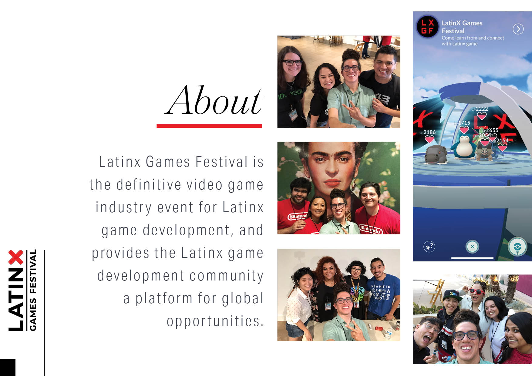 Latinx Games Festival About
