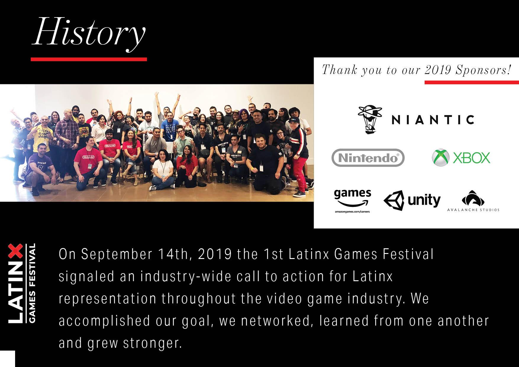 Latinx Games Festival History