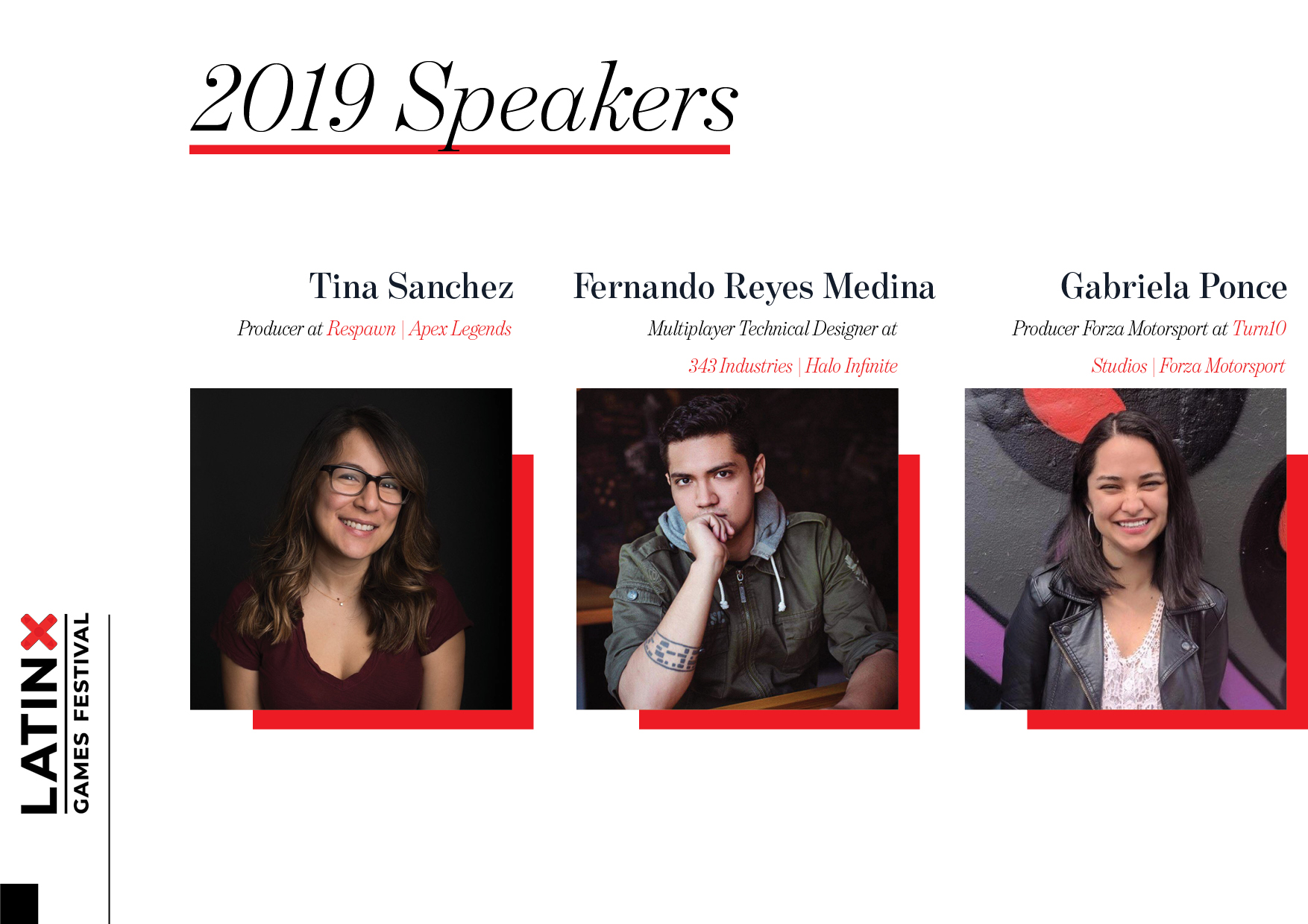 Latinx Games Festival Speakers1