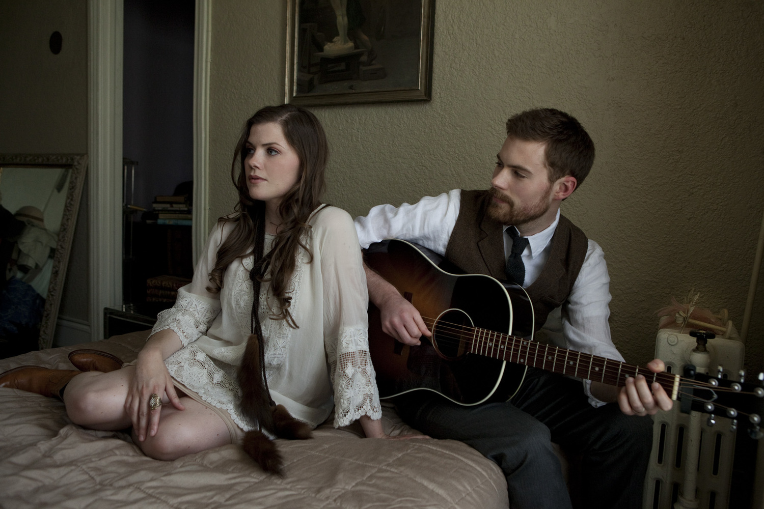 Sarah and Bryan Vanderpool are the young and talented duo that make up The Well Pennies
