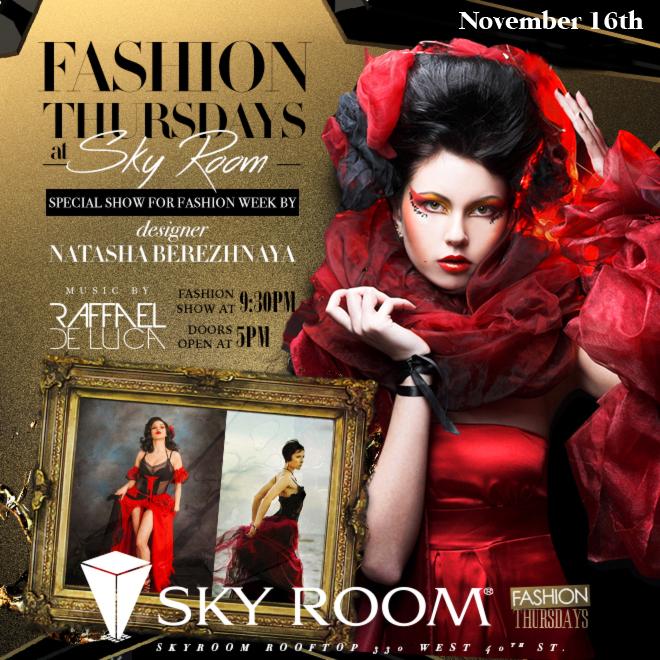 Fashion Thursday at Skyroom