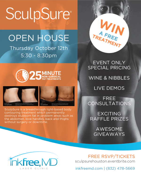 SculpSure Open House at Inkfree, MD. 10/12
