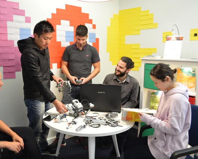 Robotics NIT Students