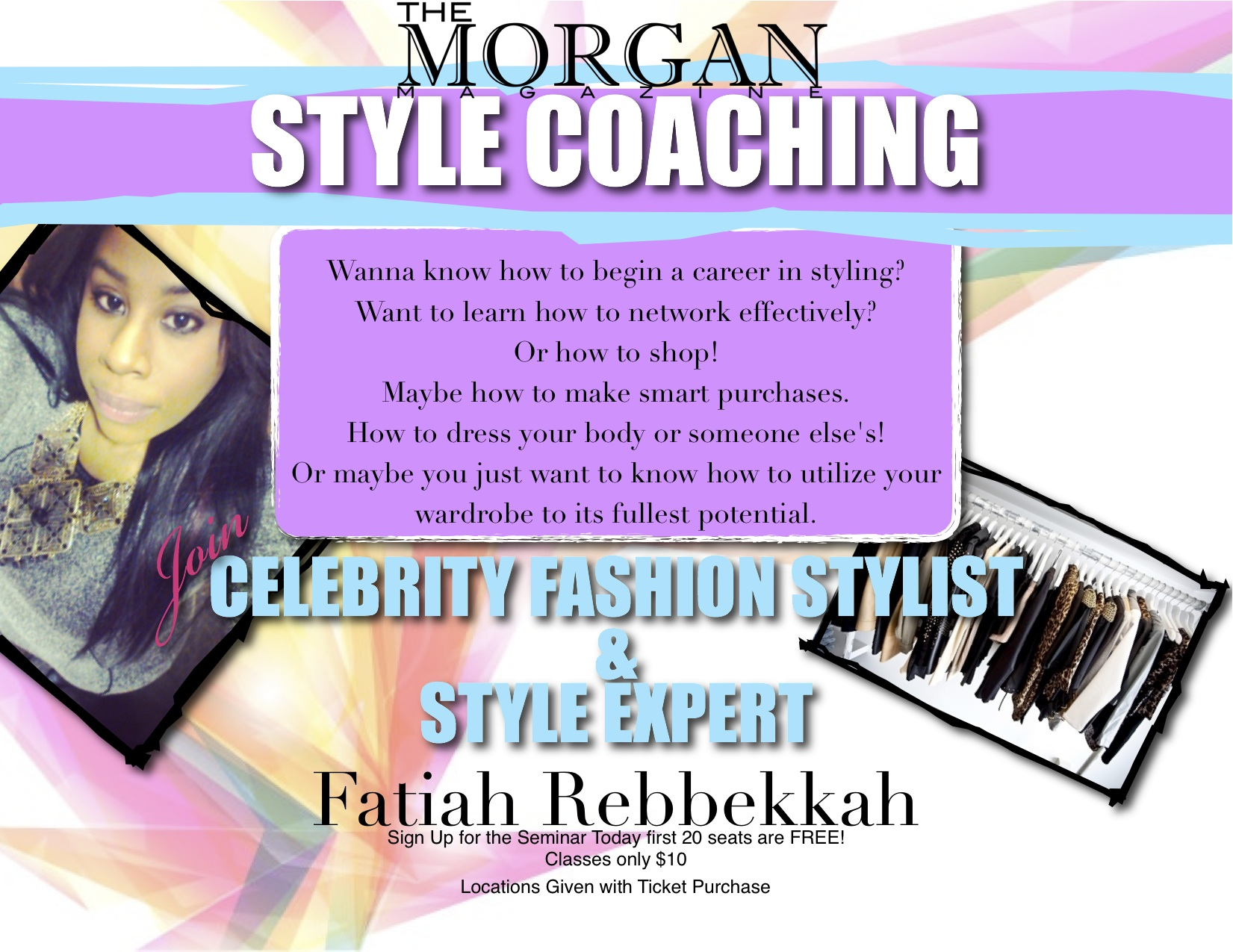Style Coaching With Celebrity Fashion Stylist Tickets Sat