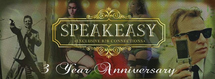 Speakeasy 3 Year Anniversary