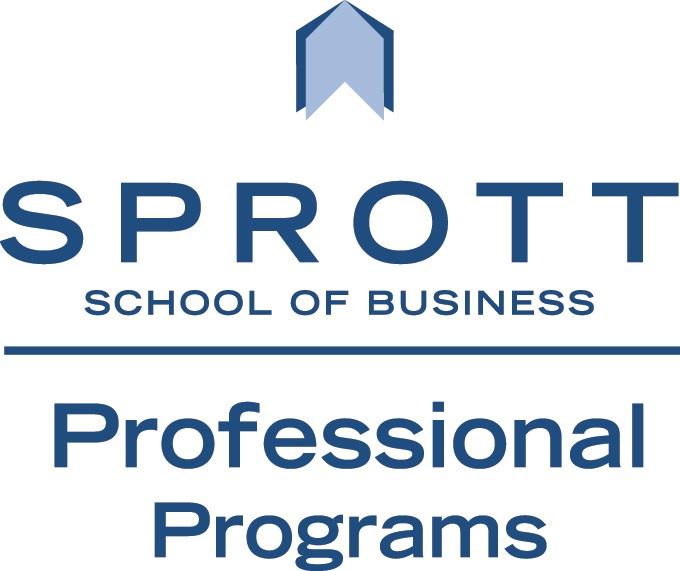 Sprott Professional Programs