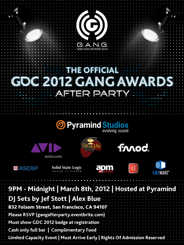 GANG Awards After Party
