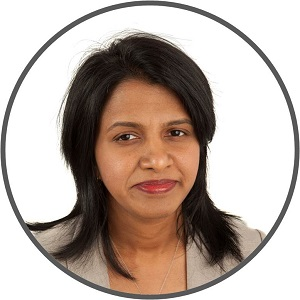 Headshot of Lakshmi Baskaran