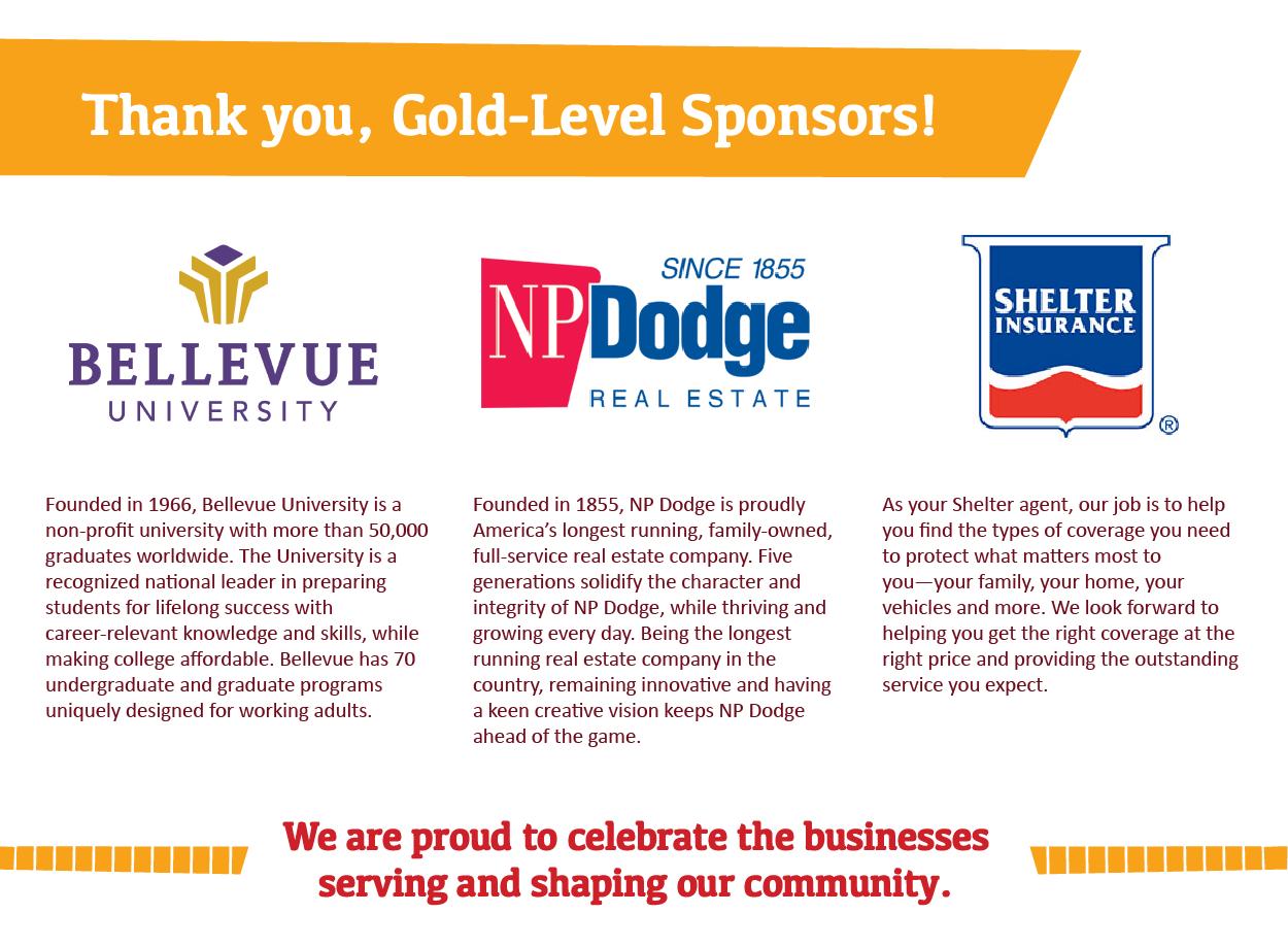 Summer Fest Gold Level Sponsors