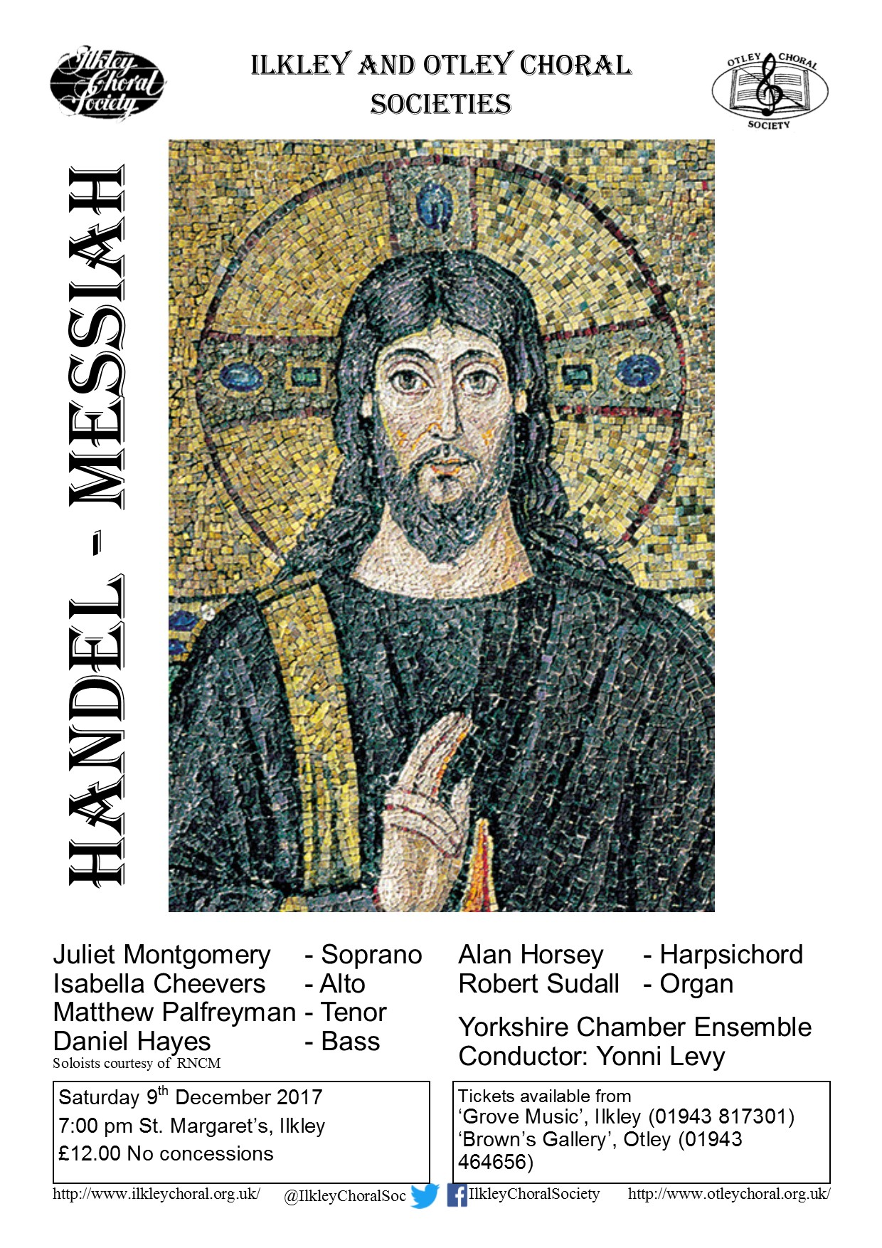 Messiah Dec 2017 Ilkley Choral Soc