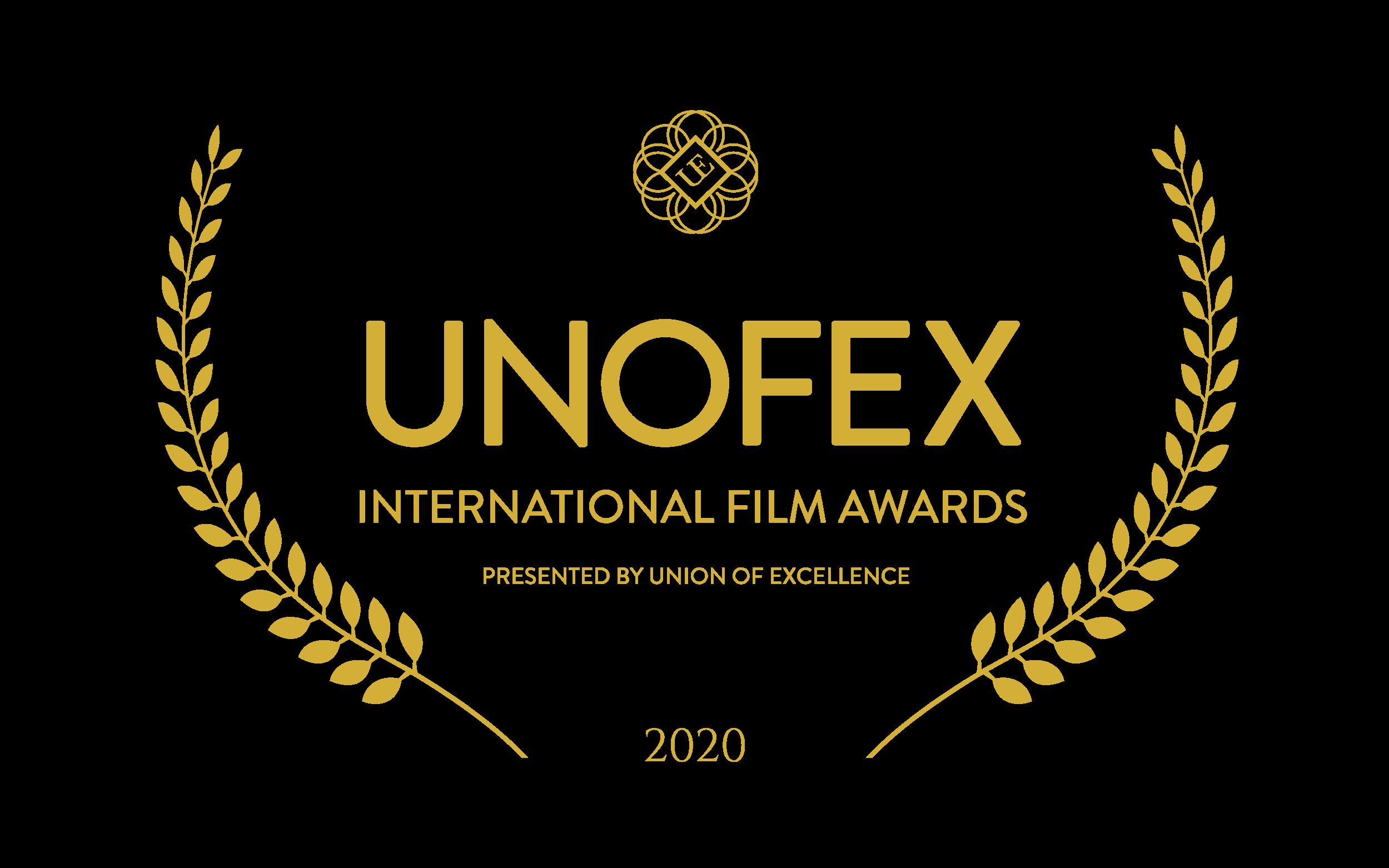 UNOFEX International Film Awards 2020 Logo