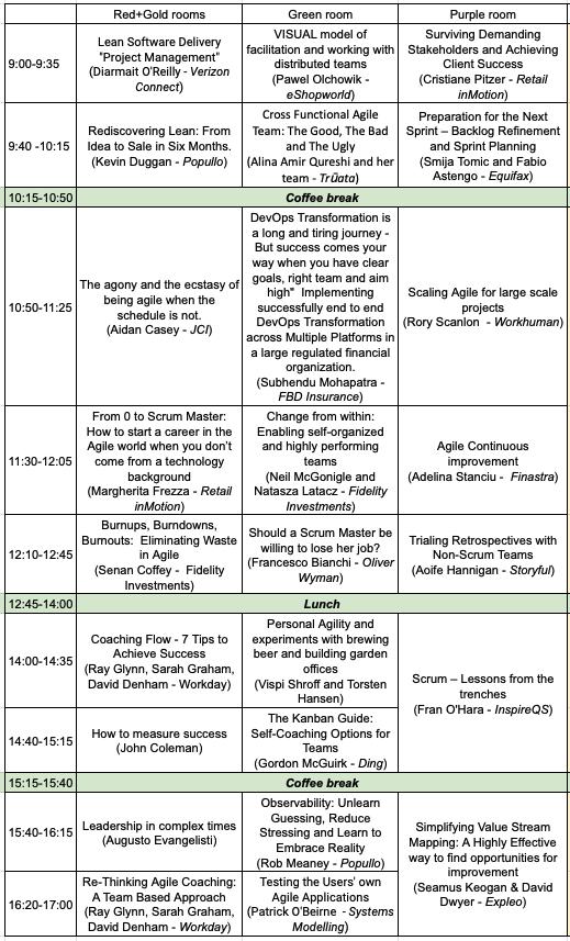 program 2019 level -1