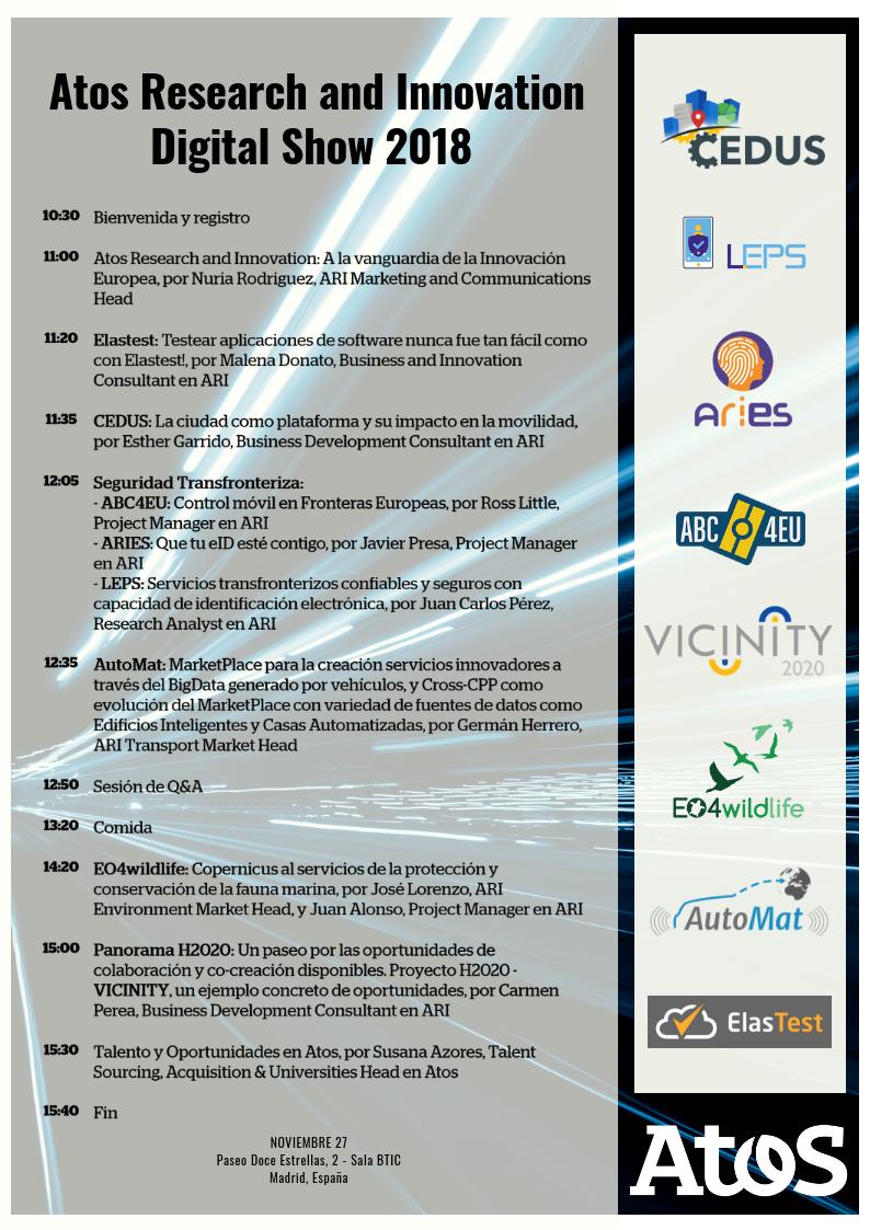 Agenda ARI Digital Show 2018
