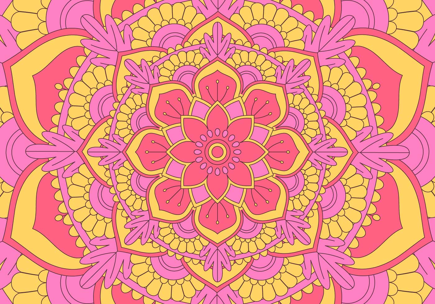 mandala circle patterns