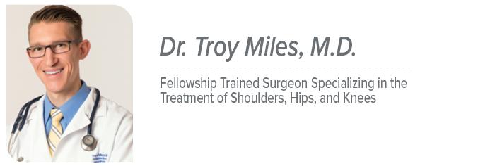 Dr. Troy Miles, M.D.