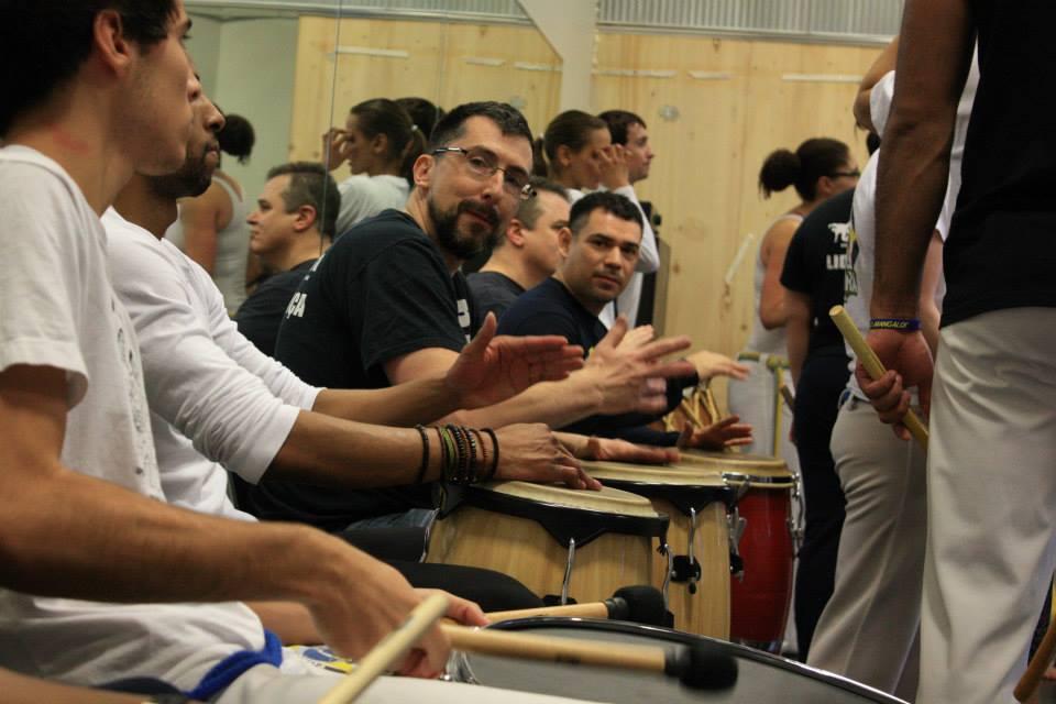 Musicians from Brazilian Capoeira