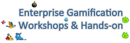 Enterprise Gamification Workshop & Hands-on / Chicago