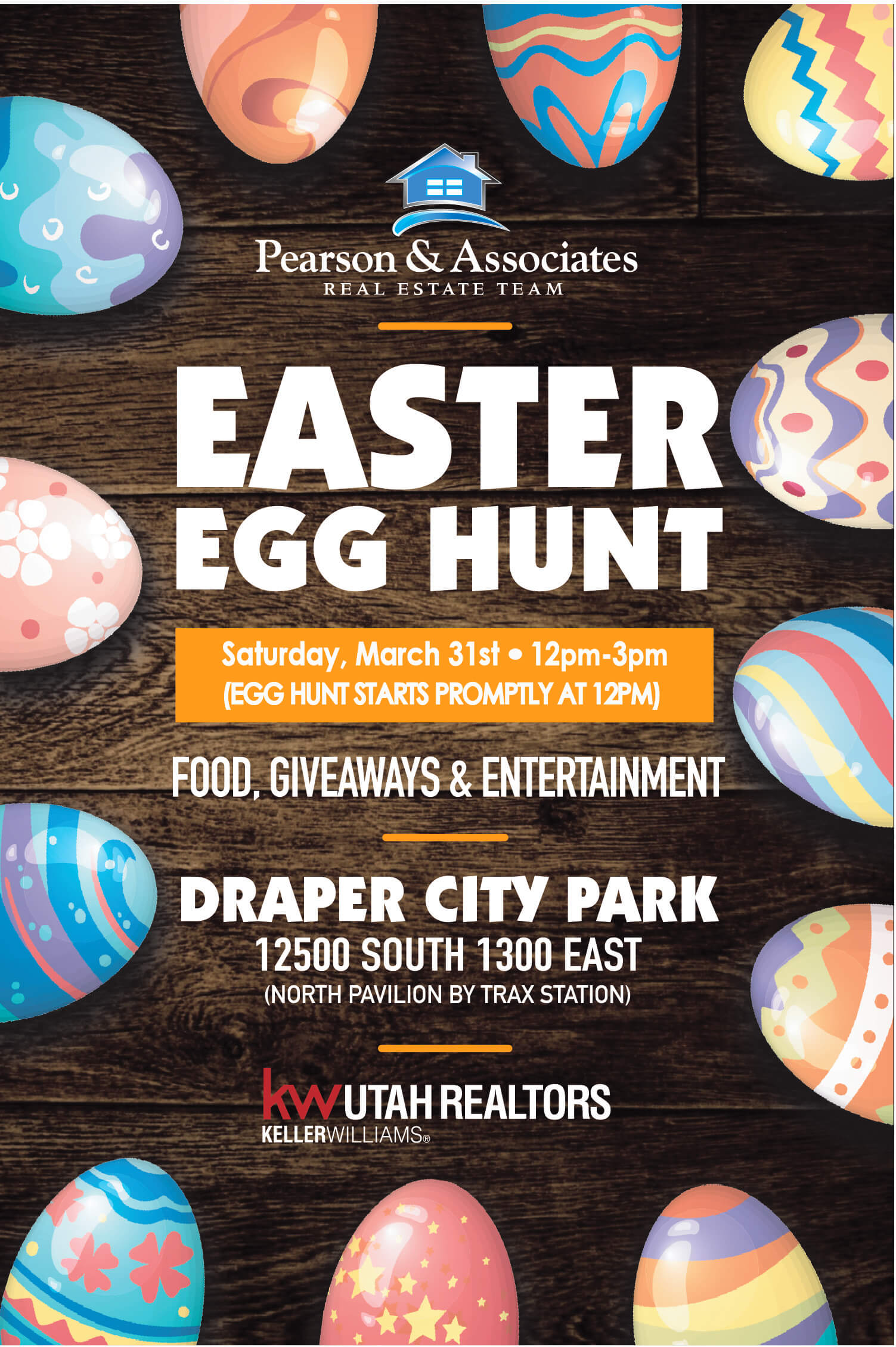 ANNUAL EASTER EGG HUNT ANNOUNCEMENT