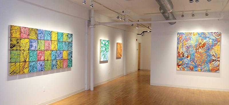 Kingston Gallery installation view Lynda Schlosberg