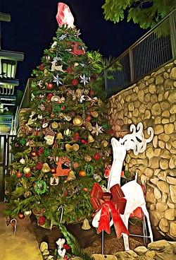 La Crescenta Christmas Tree 2016