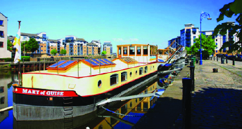 The famous Leith barge
