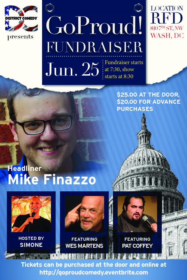 GOProud Comedy Fundraiser