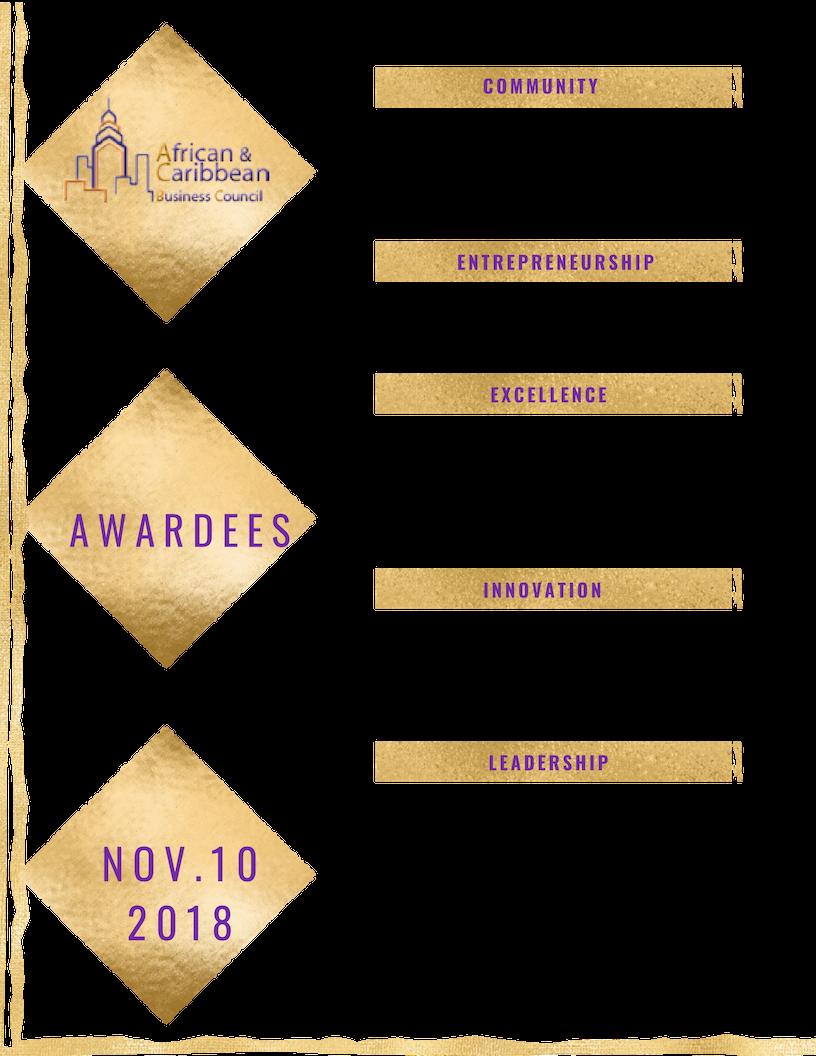 List of 2018 Awardees