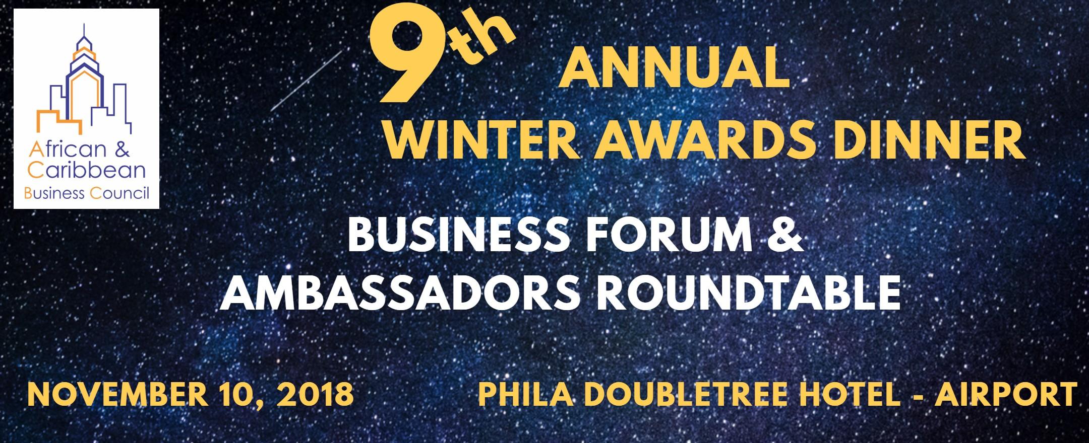 Winter Awards Banner