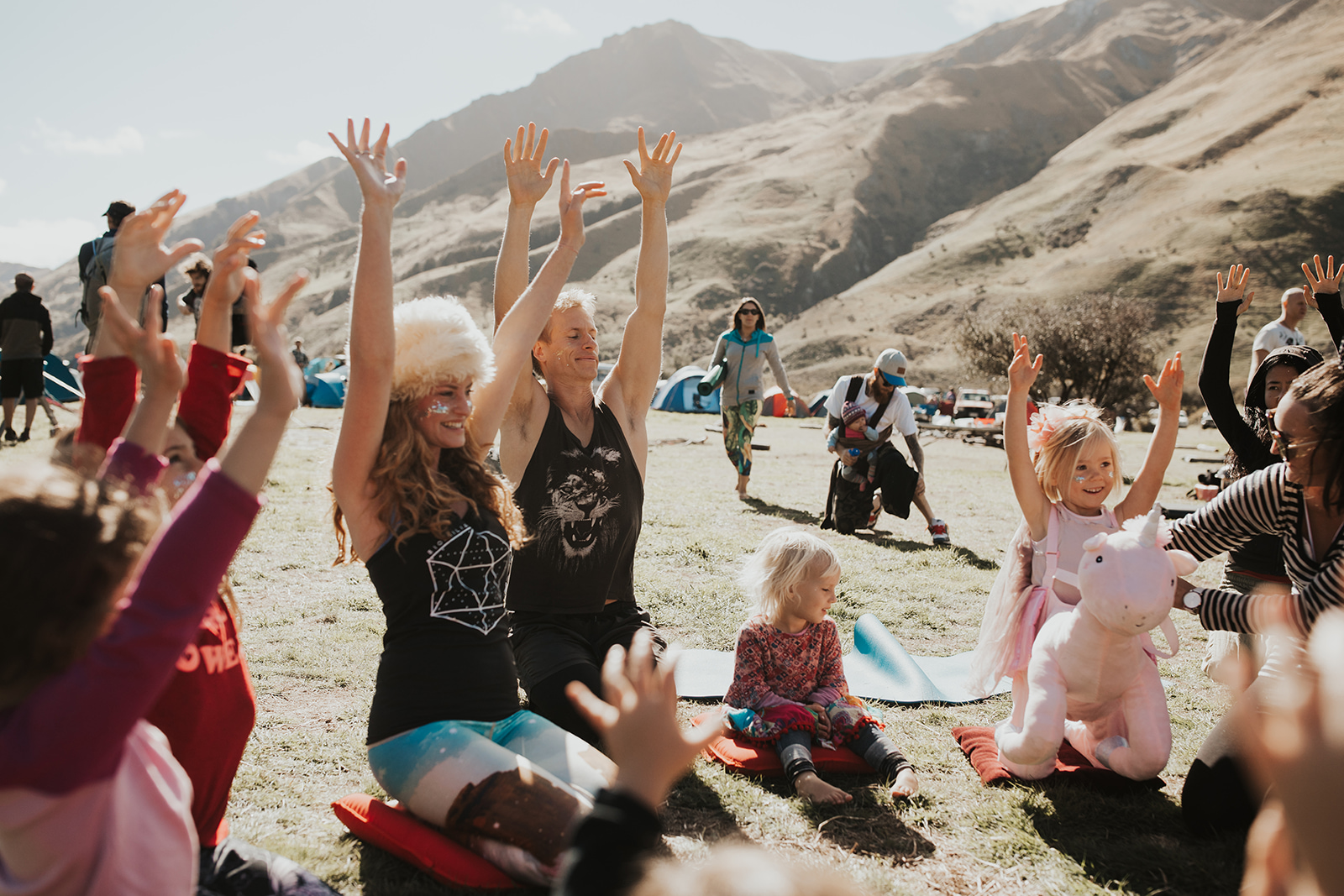 Kids Yoga Class at Biophilia with Anna Molly Chaparro taken by Kate Roberge Photogrpahy Queenstown