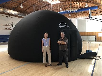 StarLab Dome and educators