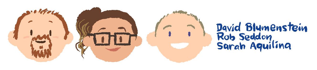 David Blumenstein, Rob Seddon, Sarah Aquilina