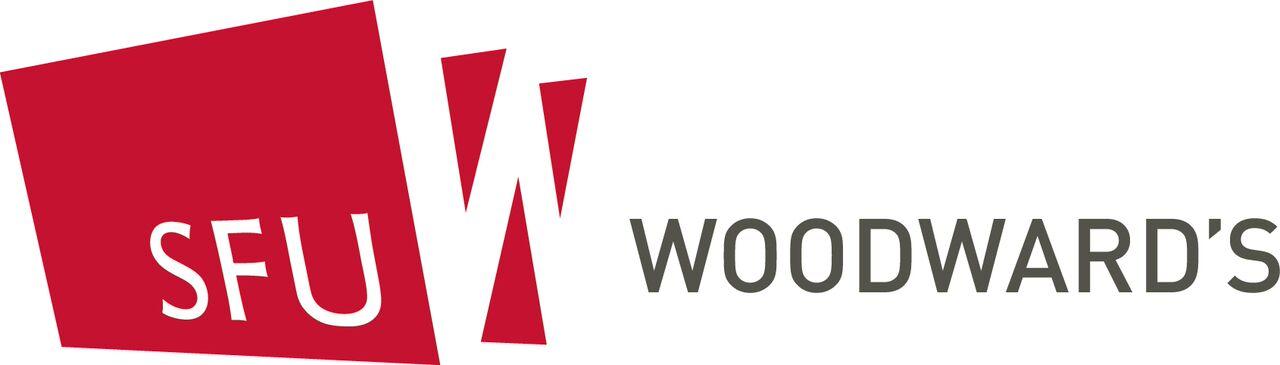 SFU Woodwards Logo