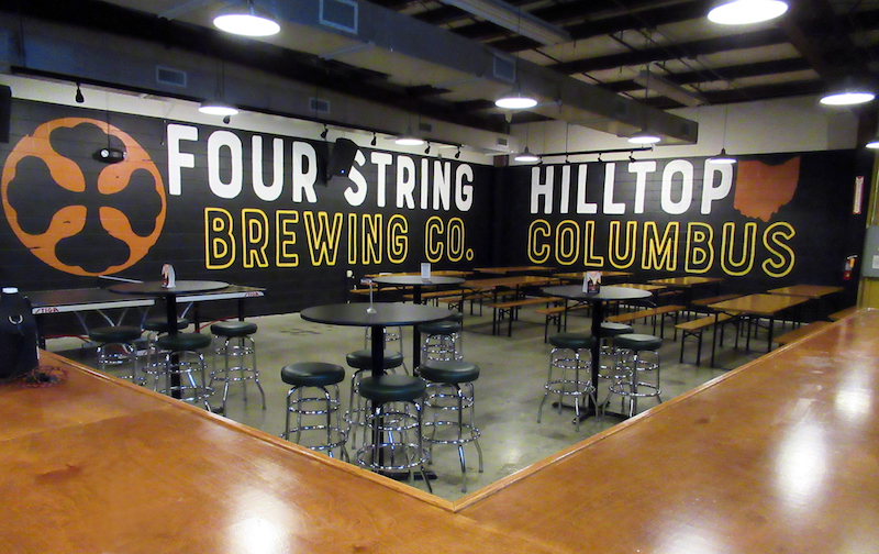 Four String Brewing Company Hilltop Taproom October 2017