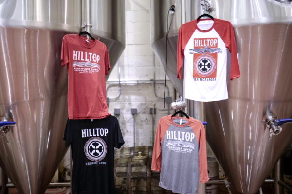 Four String Brewing Company Hilltop Lager Merchandise 2017