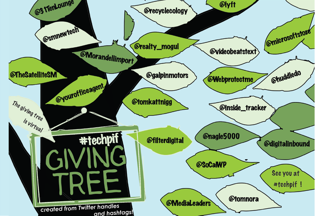Twitter giving tree