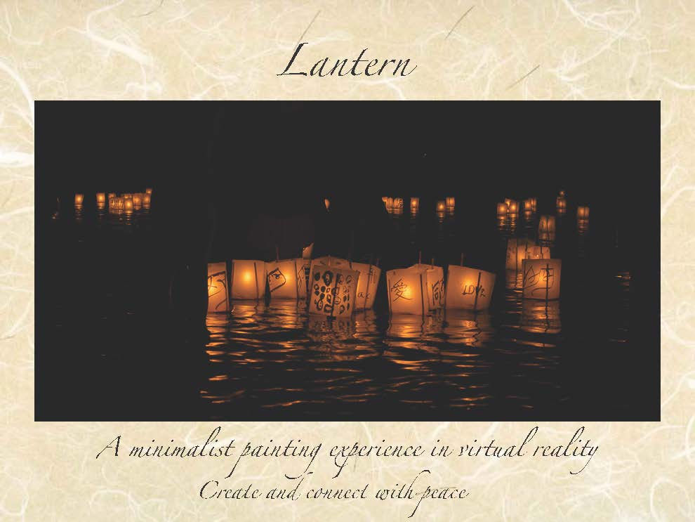 Paint your own lantern and set it to drift.  Your art will converge with others' on a beautiful night at lake, lighting up your heart with the simplest connection with others
