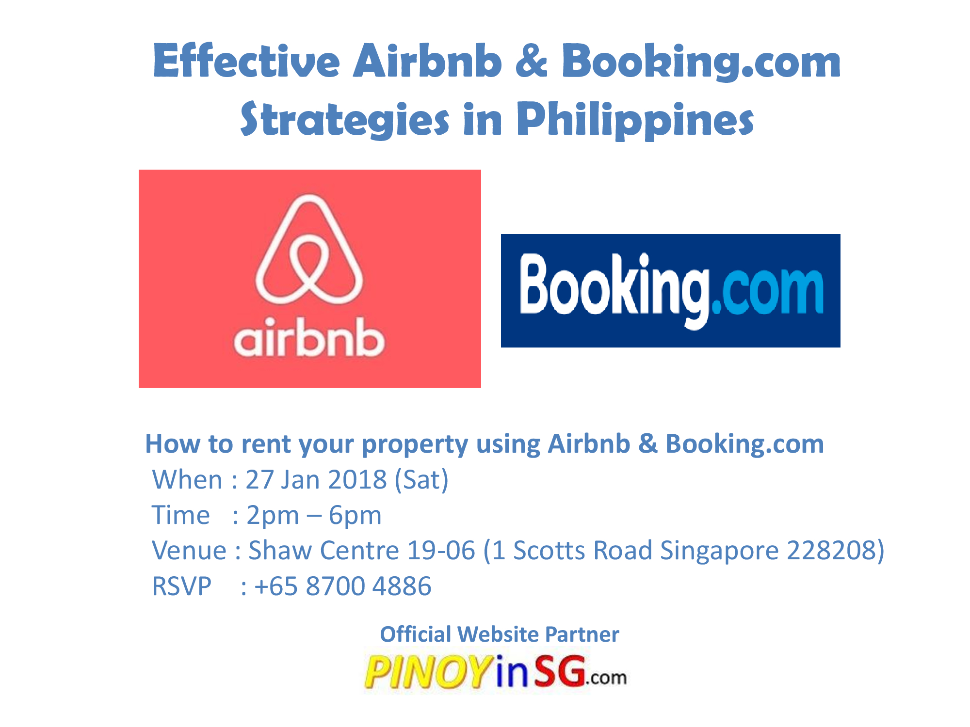 aibnb and booking.com