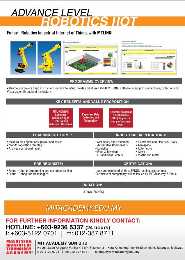 FANUC - Robotics Programming and Simulation for Industrial