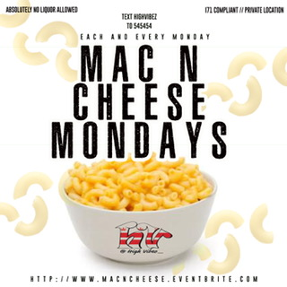 Mac n Cheese Mondays